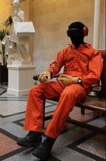 2009:7 - Original - Sculpture - Guantanamo Bay escape - unknown source