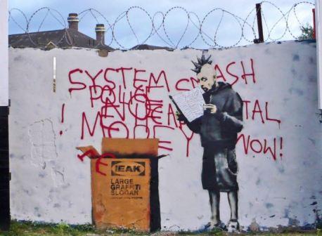 2009:9:20 - SA - London Croydon - Punk w Ikeabox - Banksyweb