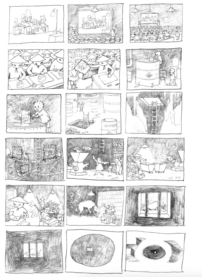2010:10 - Original - Simpson storyboard .jpeg