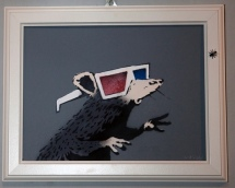2010:11:27 - Original - Marks and Stencils - Rat w 3D glasses - artofthestate