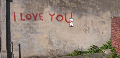 2010:9:15 - UK - SA - I love you w hourglass - Woostercollective