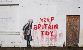 2010:9:15 - UK - SA - Keep Britain Tidy - Arrested Motion