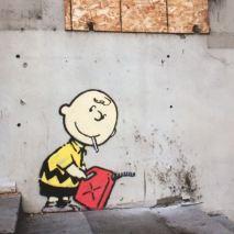 2011:2 - SA - USA - Beverly Hills - Charlie Brown firestarter - Where's Banksy p157