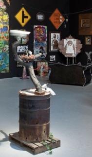 2011:4 - Original - MOCA - CCTV w barrel - moca
