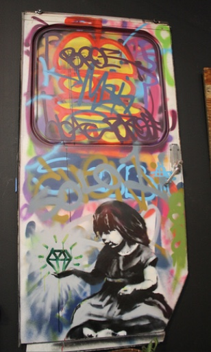 2011:4 - Original - MOCA - Girl w diamond - Christy Miller Flickr