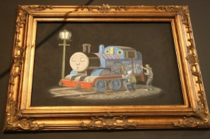 2011:4 - Original - MOCA - Locomotive w graffiti - moca