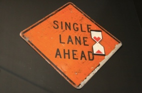 2011:4 - Original - MOCA - Sign w single line ahead - moca
