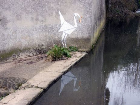 2012:3:20 - UK - Origami - streetartnews.net