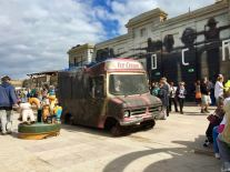 2015 - Original - Dismaland - Ice cream van - RA