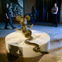 2015 - Original - Dismaland - Sculpture - Mickey Mouse - Dismaland - RA