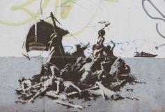 2015:12:13 - Calais - Refugees 1 - banksyweb
