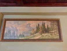 2017 - Original - The Walled Off Hotel - Alpine landscape - RA