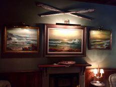 2017 - Original - The Walled Off Hotel - Three beach paintings - RA