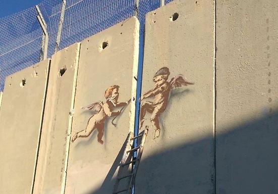 20171204 - Palestine - Betlehem - Banksy Angels.jpeg