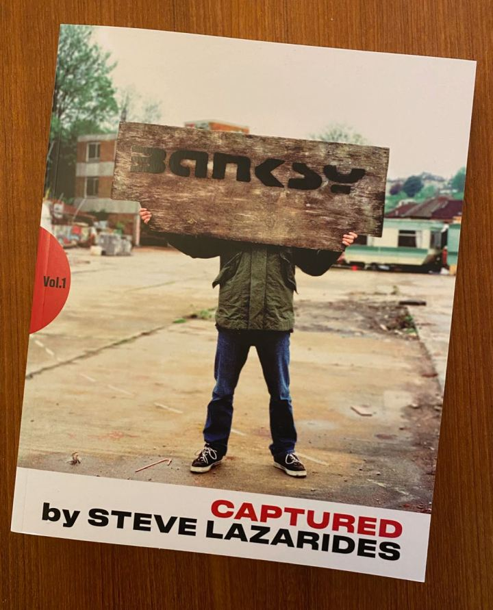 Banksy Captured Vol 1- Book by Steve Lazarides - RA